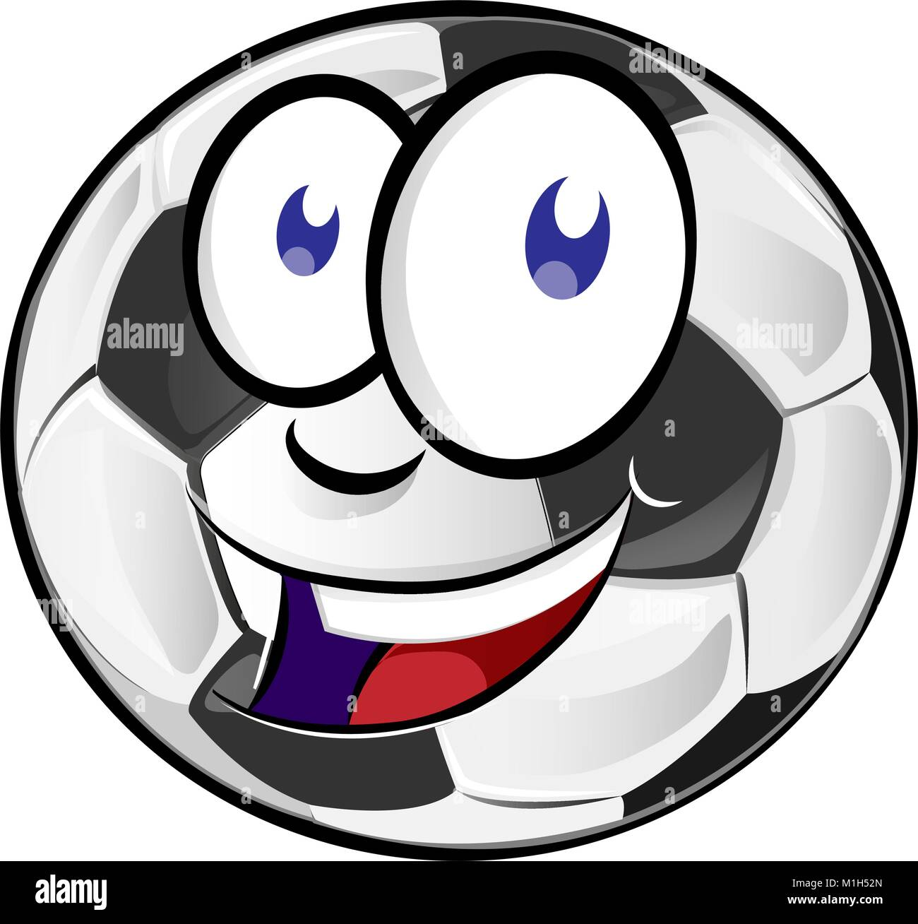 Cartoon Football Man Character Stockfotos & Cartoon ...