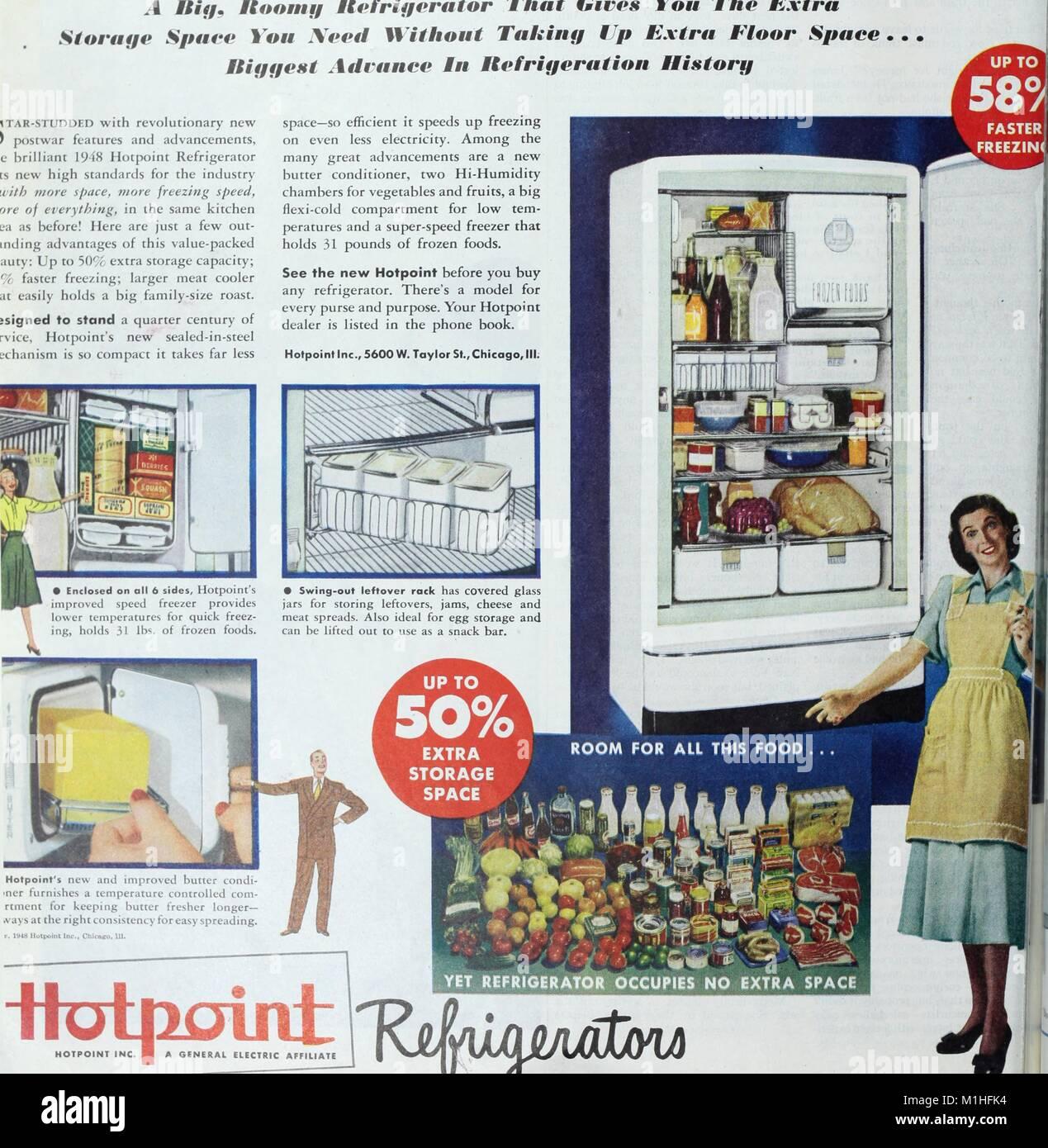 Farbe Abbildung: Werbung Knallerkauf Marke Kühlschrank unter Angabe ...