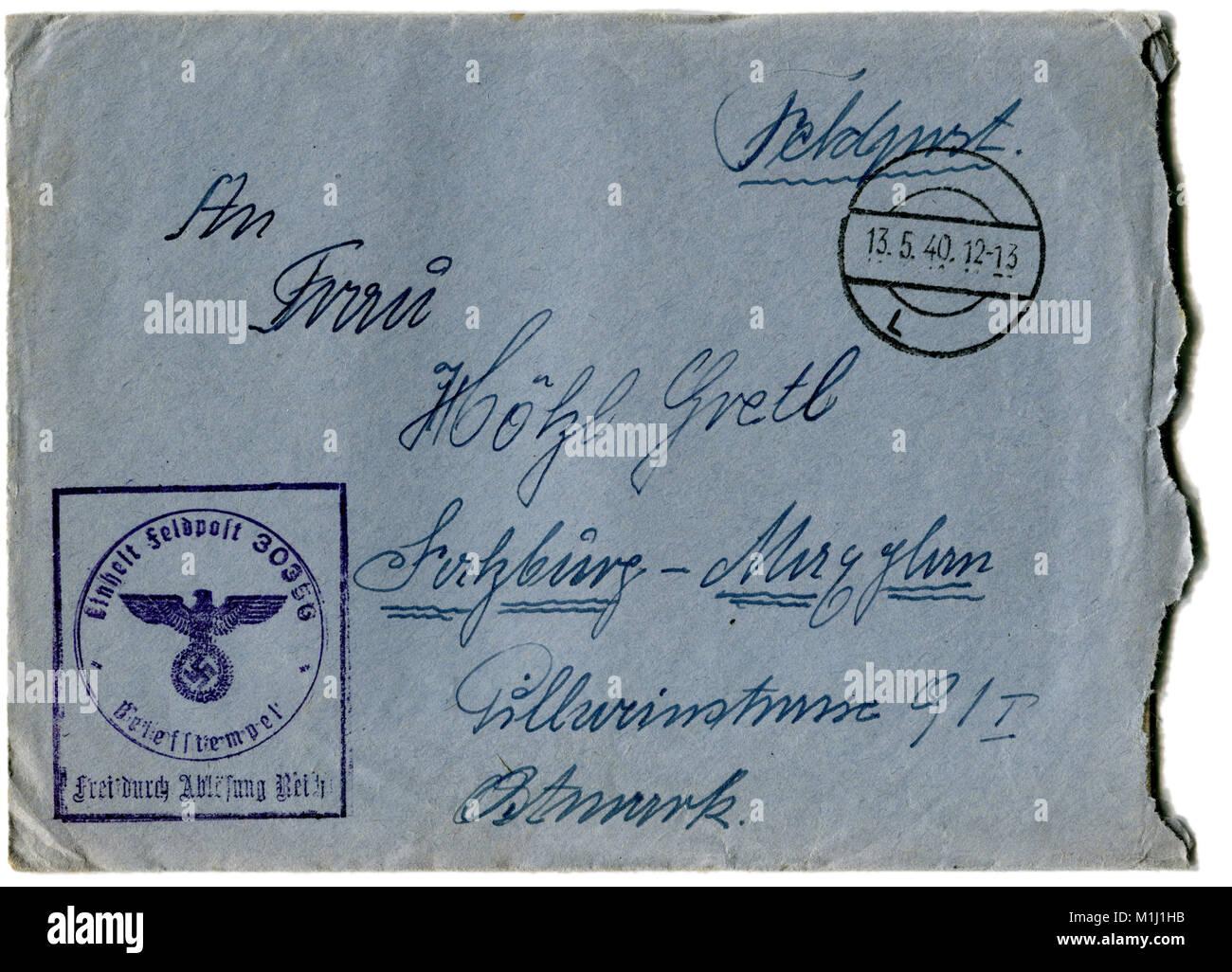Deutsche Post Prio Brief Verfolgung Die Gefürchtete Nähmaschine Dbz