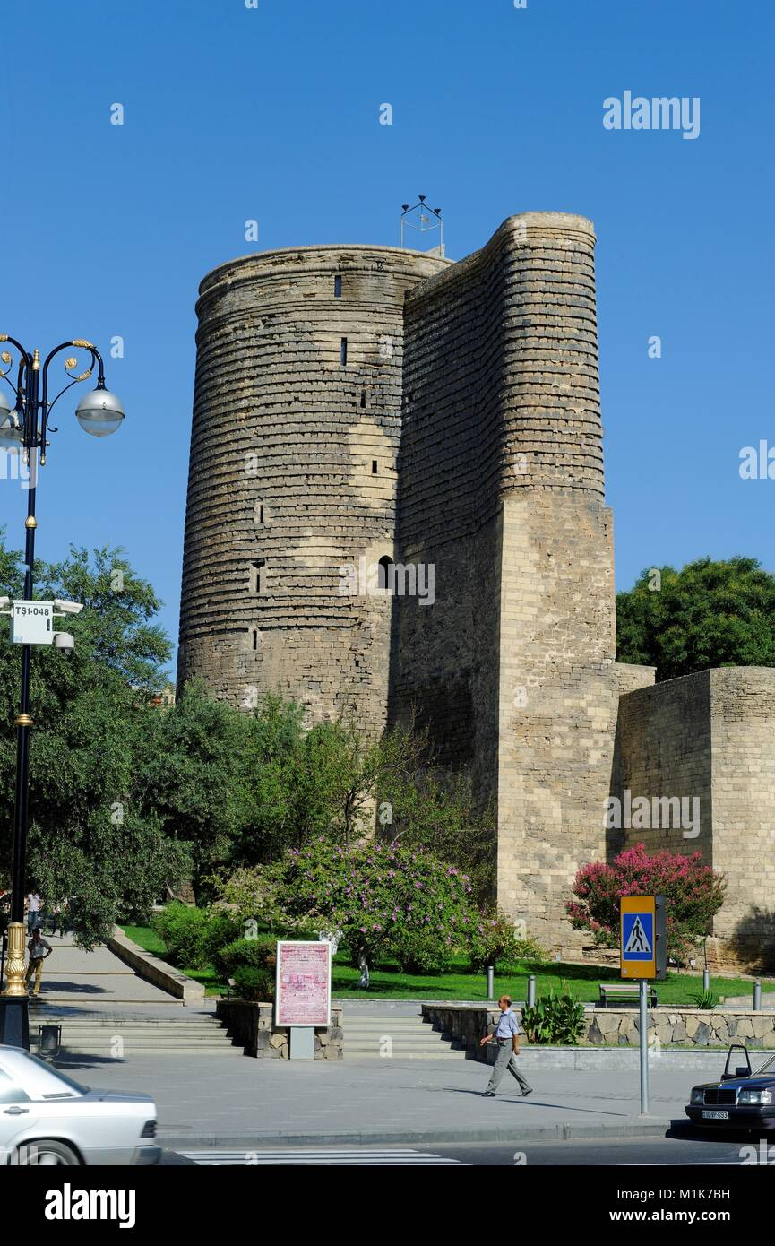 Maiden Tower Baku Stockfotos Und Bilder Kaufen Alamy