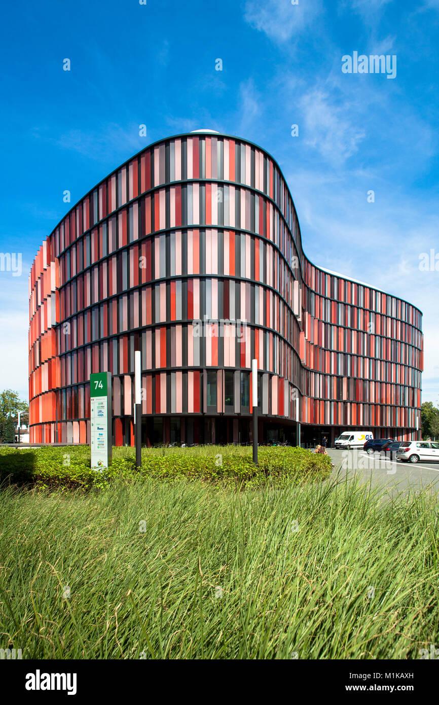 Deutschland, Köln das Bürogebäude Cologne Oval Offices von den Architekten Louisa Hutton und Prof. Stockbild