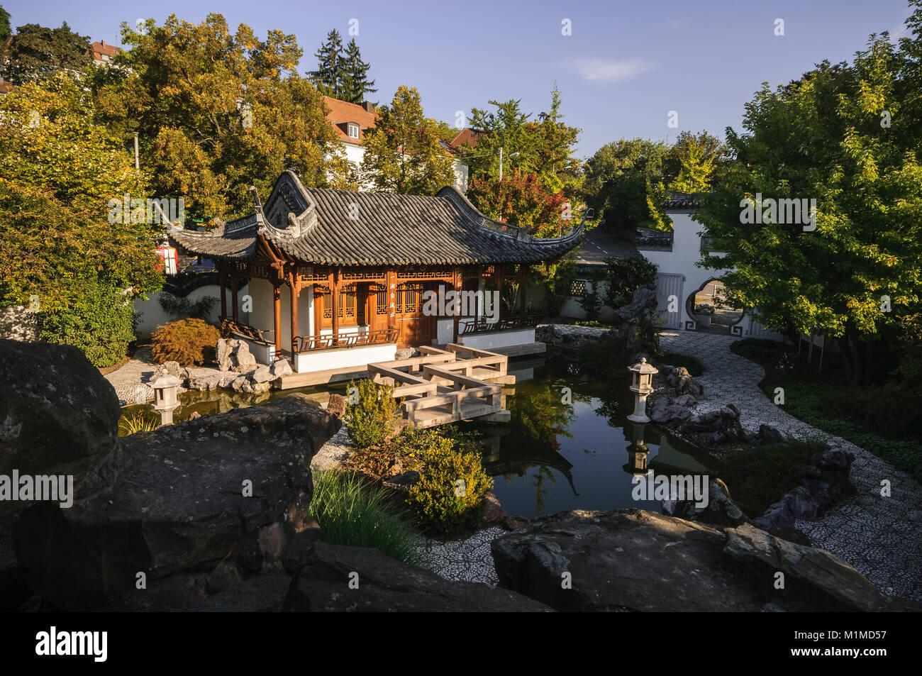 Stuttgart Chinesischer Garten Baden Württemberg Deutschland