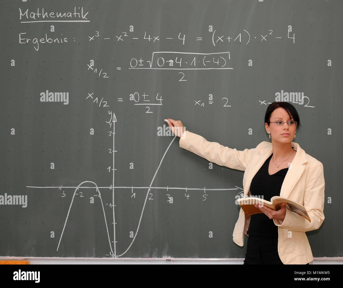 Freche Lehrerin Gibt Unterricht