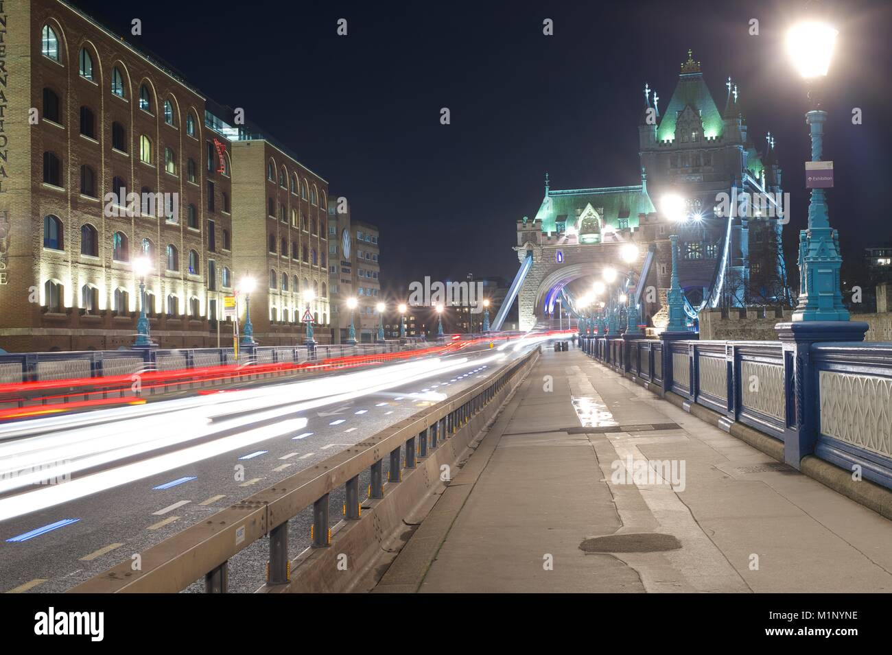 Tower Bridge, London Stockbild