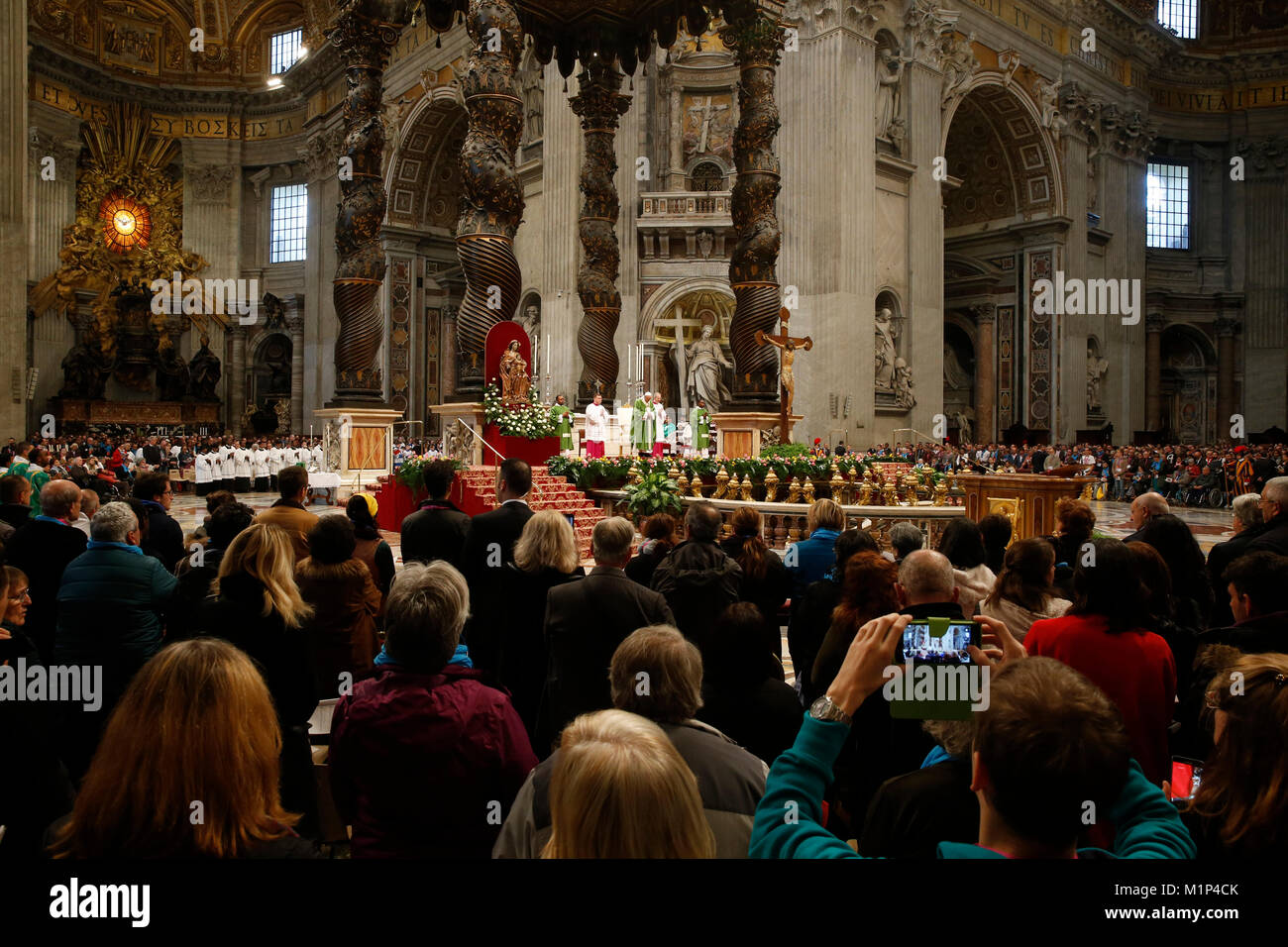 Gottesdienst Petersdom Rom