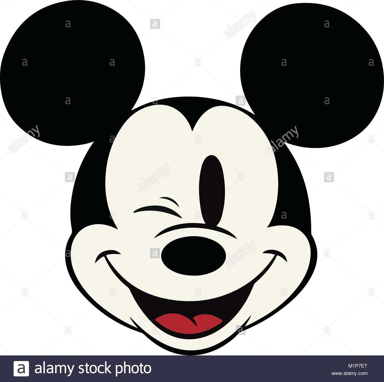 mickey mouse k nnen gedruckt werden skaliert auf beliebiges format scalable vector vektor. Black Bedroom Furniture Sets. Home Design Ideas