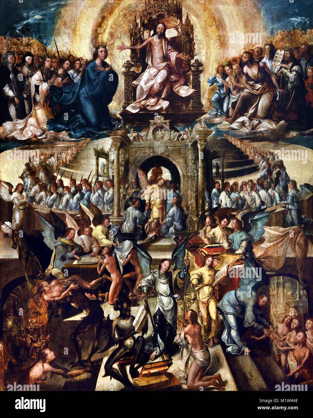 Weltgericht 1540 50 Meister Von 1549 Aus Dem 16 Jahrhundert