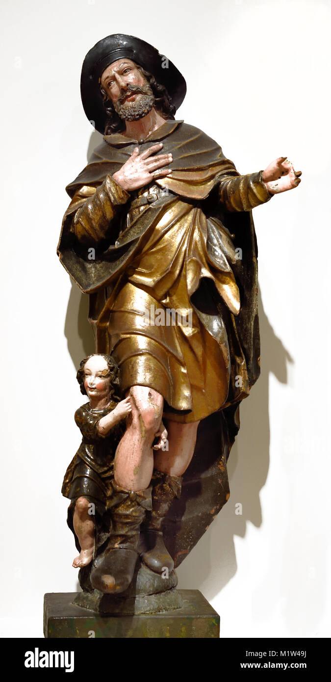 St Roch aus dem 16. Jahrhundert Deutscher Deutschland, Stockbild