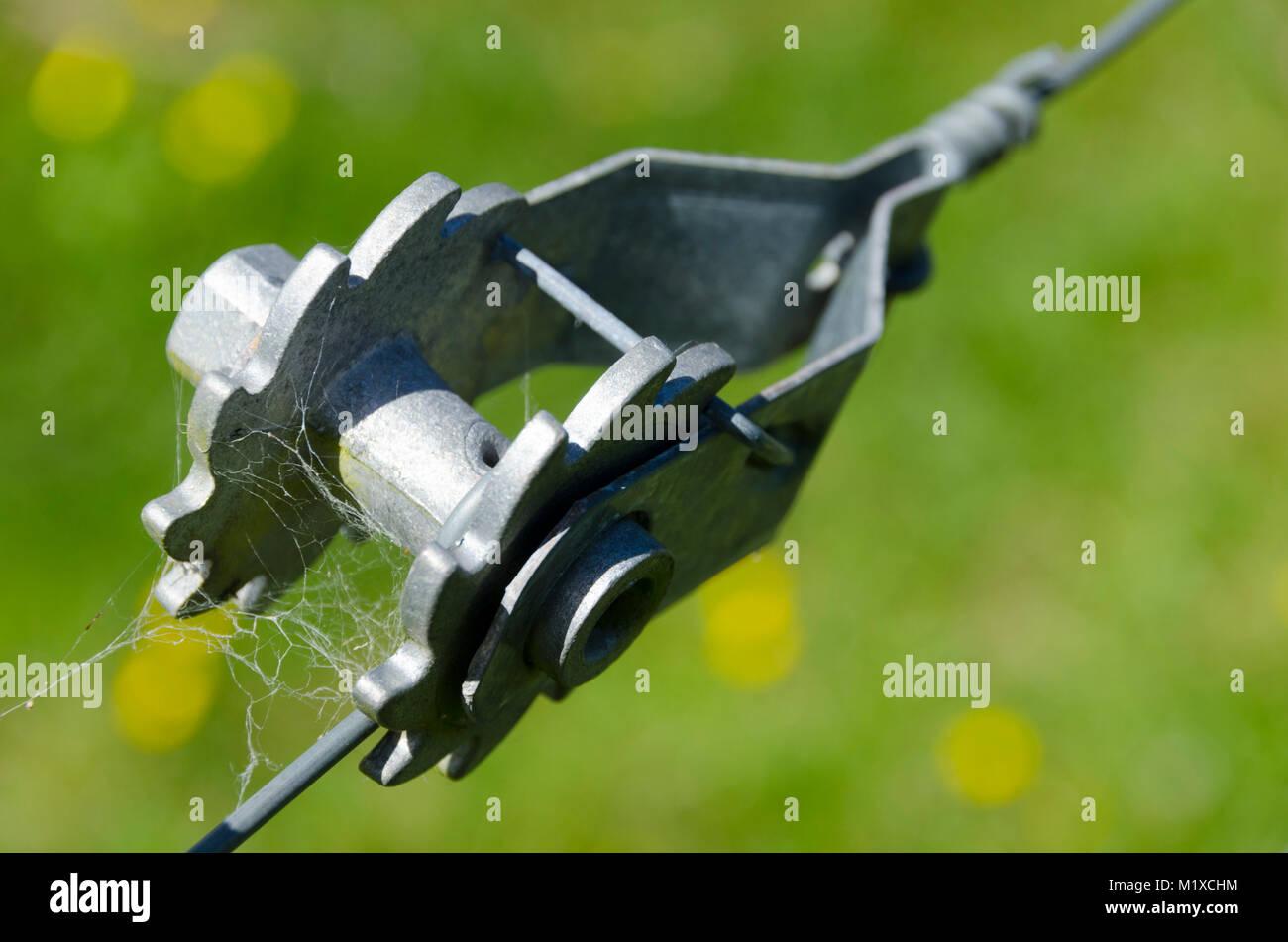 Bauernhof Zaun Draht Spanner Stockfoto Bild 173298992 Alamy