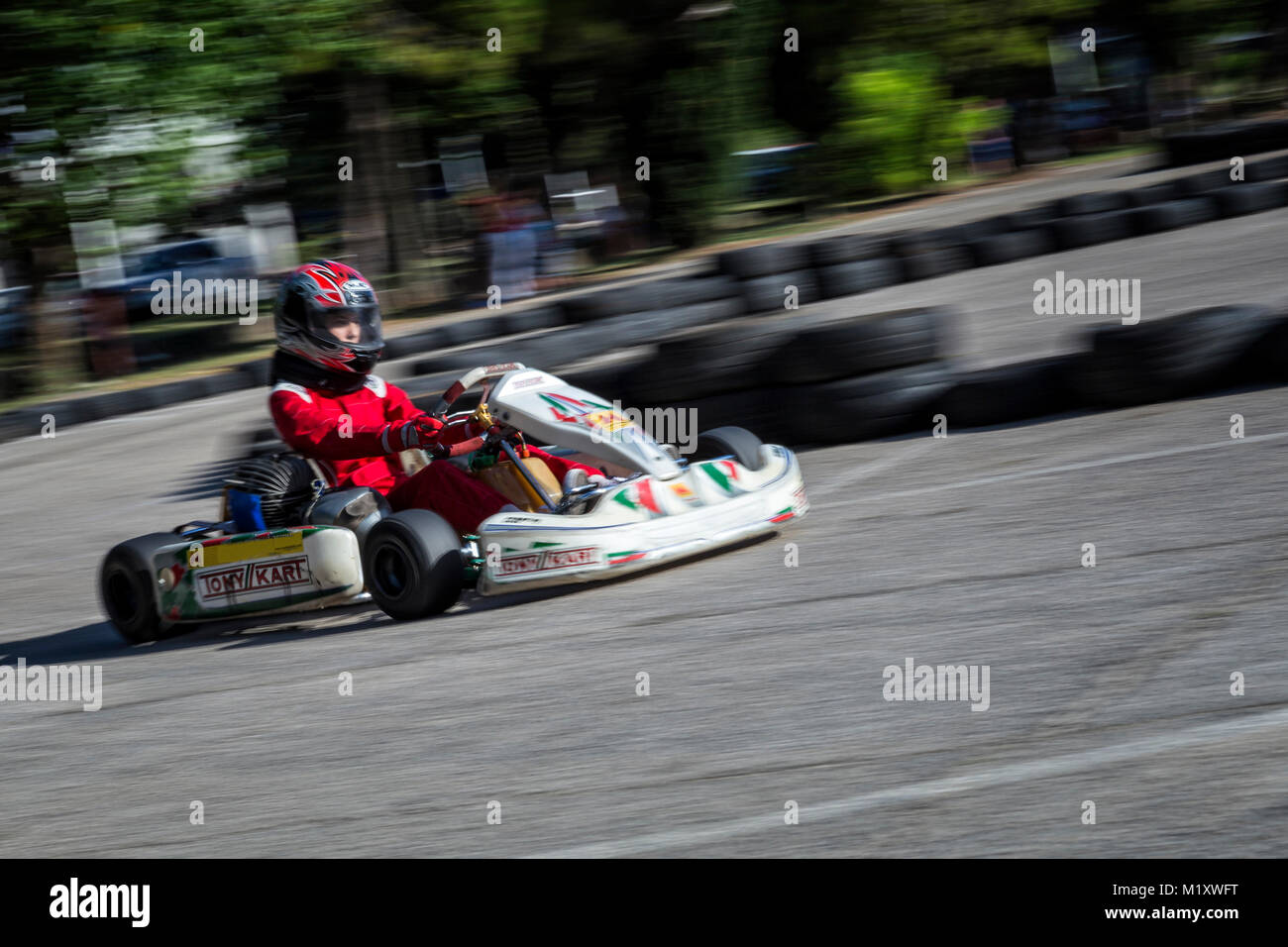 Go Kart And Track Stockfotos & Go Kart And Track Bilder - Alamy