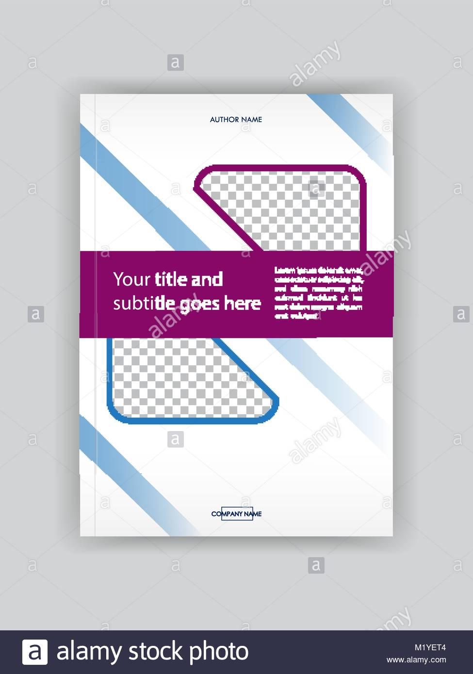 Business Buch für Design Vorlage. Gut für Portfolio, Broschüre ...
