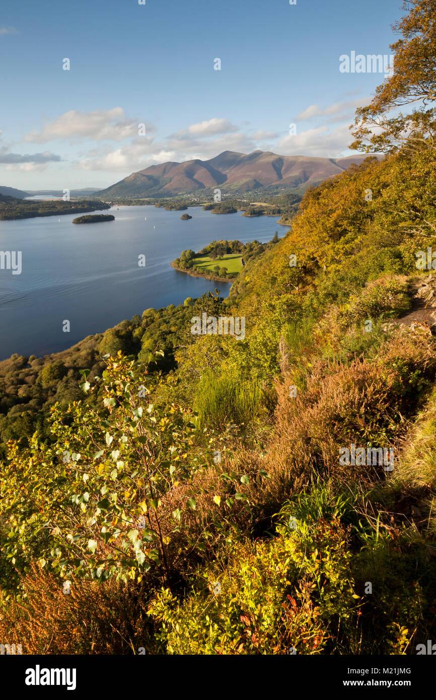 Lassen sie sich überraschen, Lake District in Großbritannien Stockbild