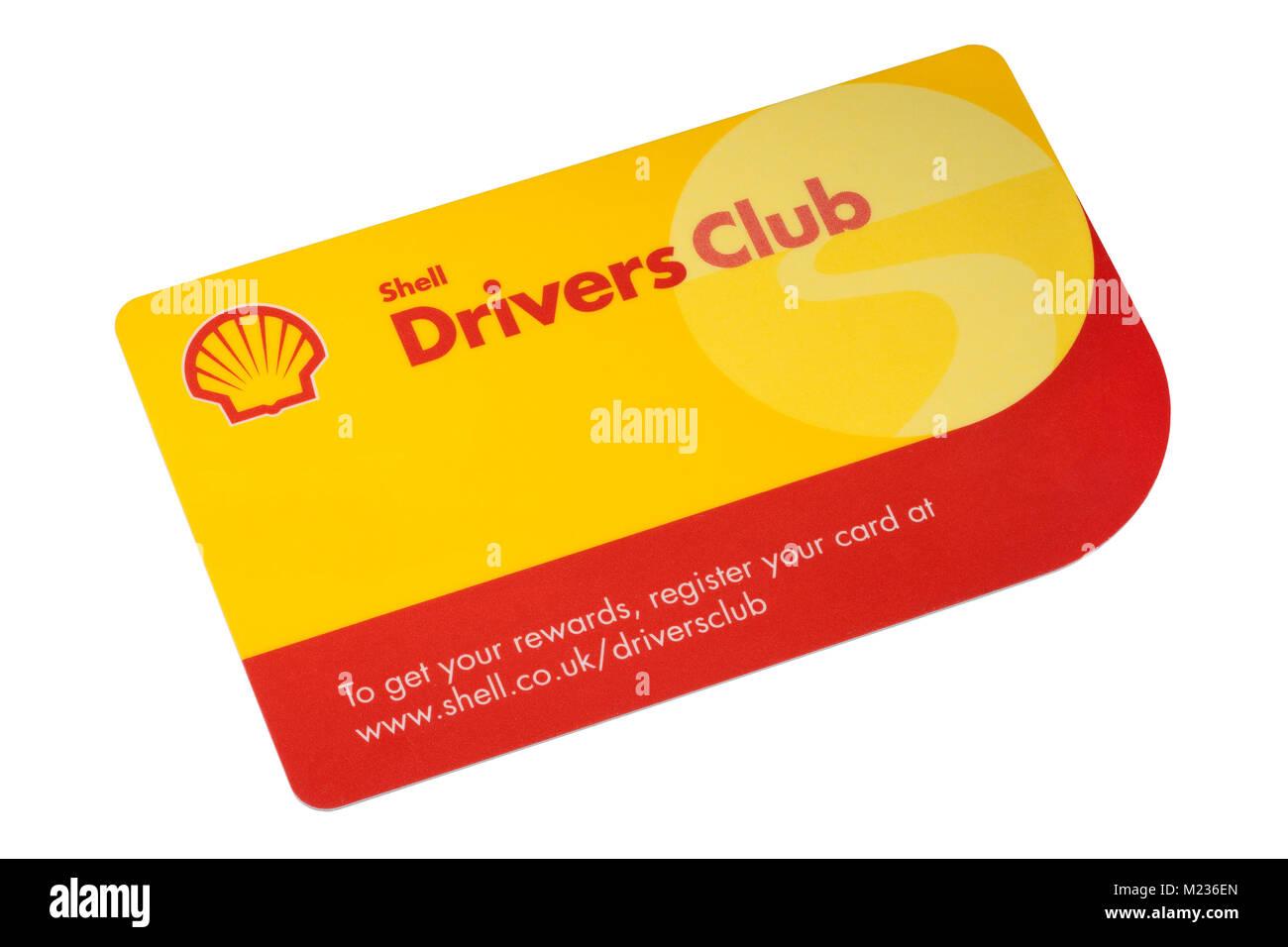Shell Tankstellen Karte.Shell Drivers Club Loyalty Rewards Karte Auf Einem Weissem