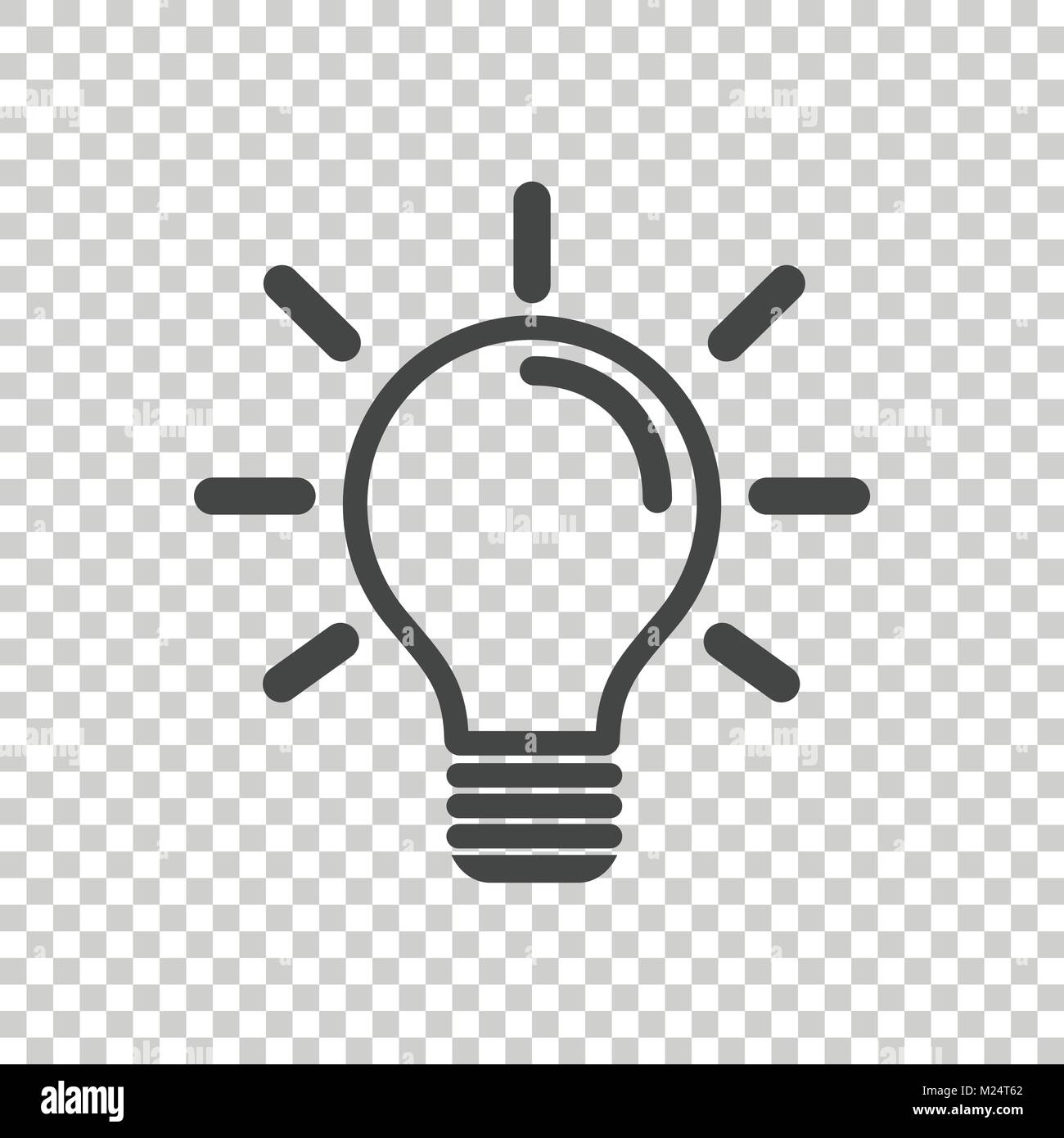 Halogen Lamp Icon In Flat Stockfotos & Halogen Lamp Icon In Flat ...