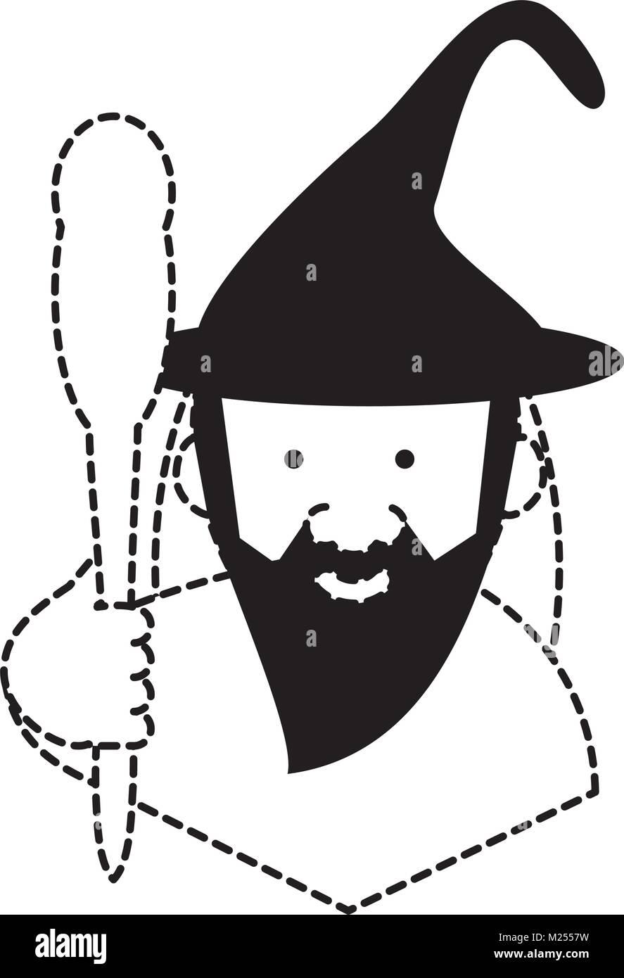 Cartoon Symbol Einrichtungsassistent Vektor Abbildung Bild