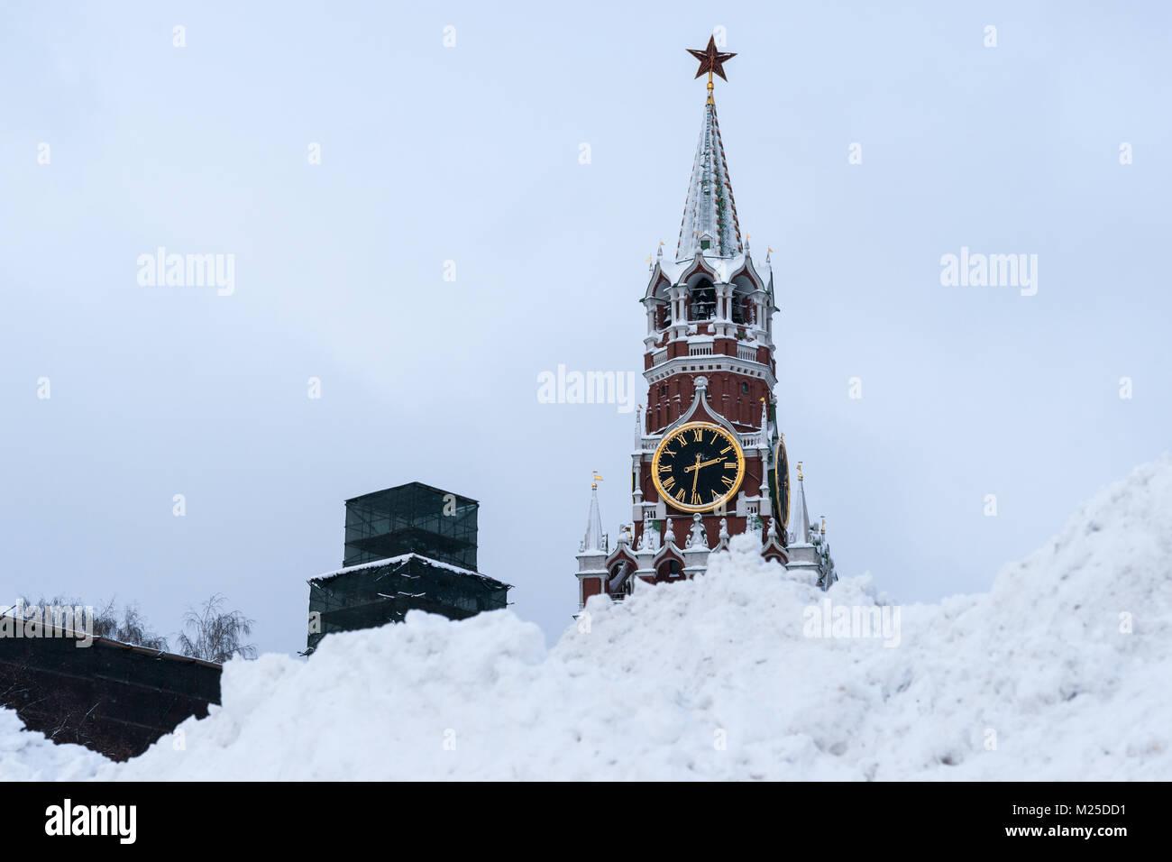 Russische Wetter Moskau Montag 5 Februar 2018 Die Stadt Belebt