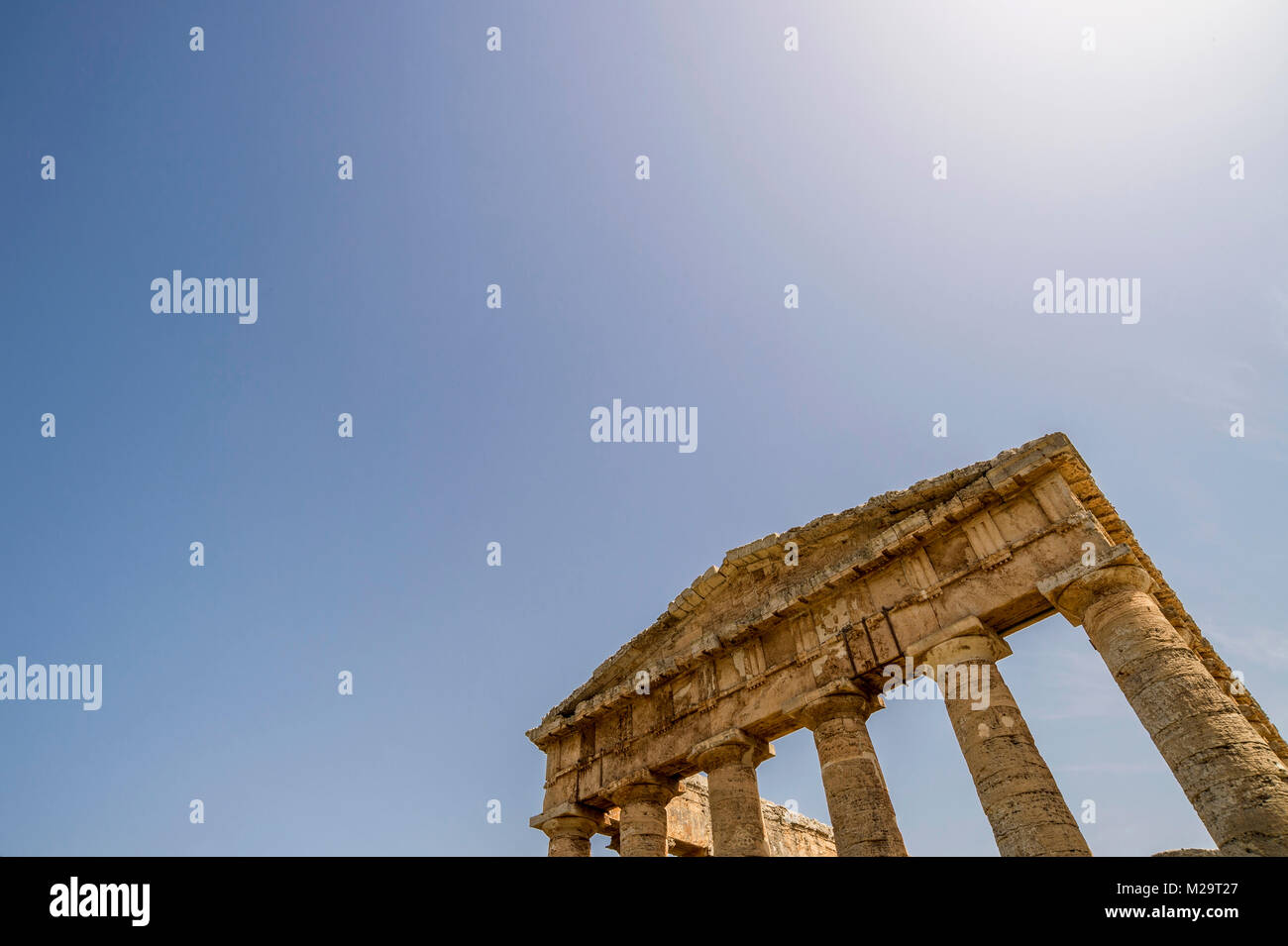 Italien, Sizilien, Selinunte Stockbild