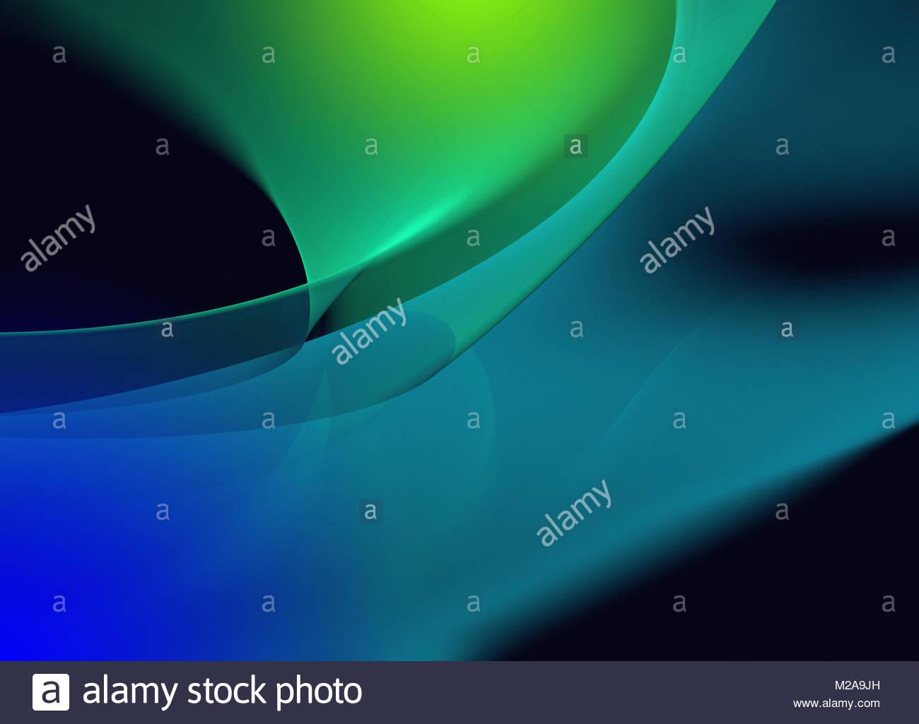 Abstrakt-Kurve-Muster Stockbild