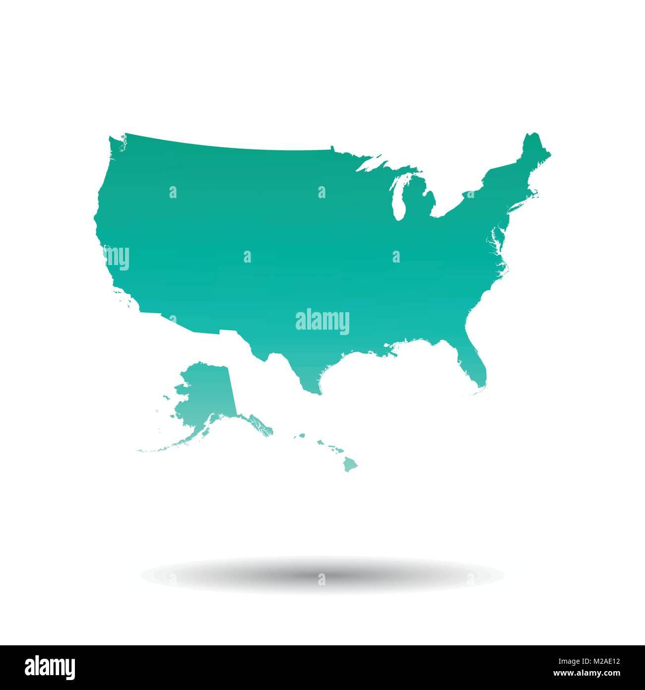 Großzügig Karte Der Vereinigten Staaten Färbung Seite Fotos ...