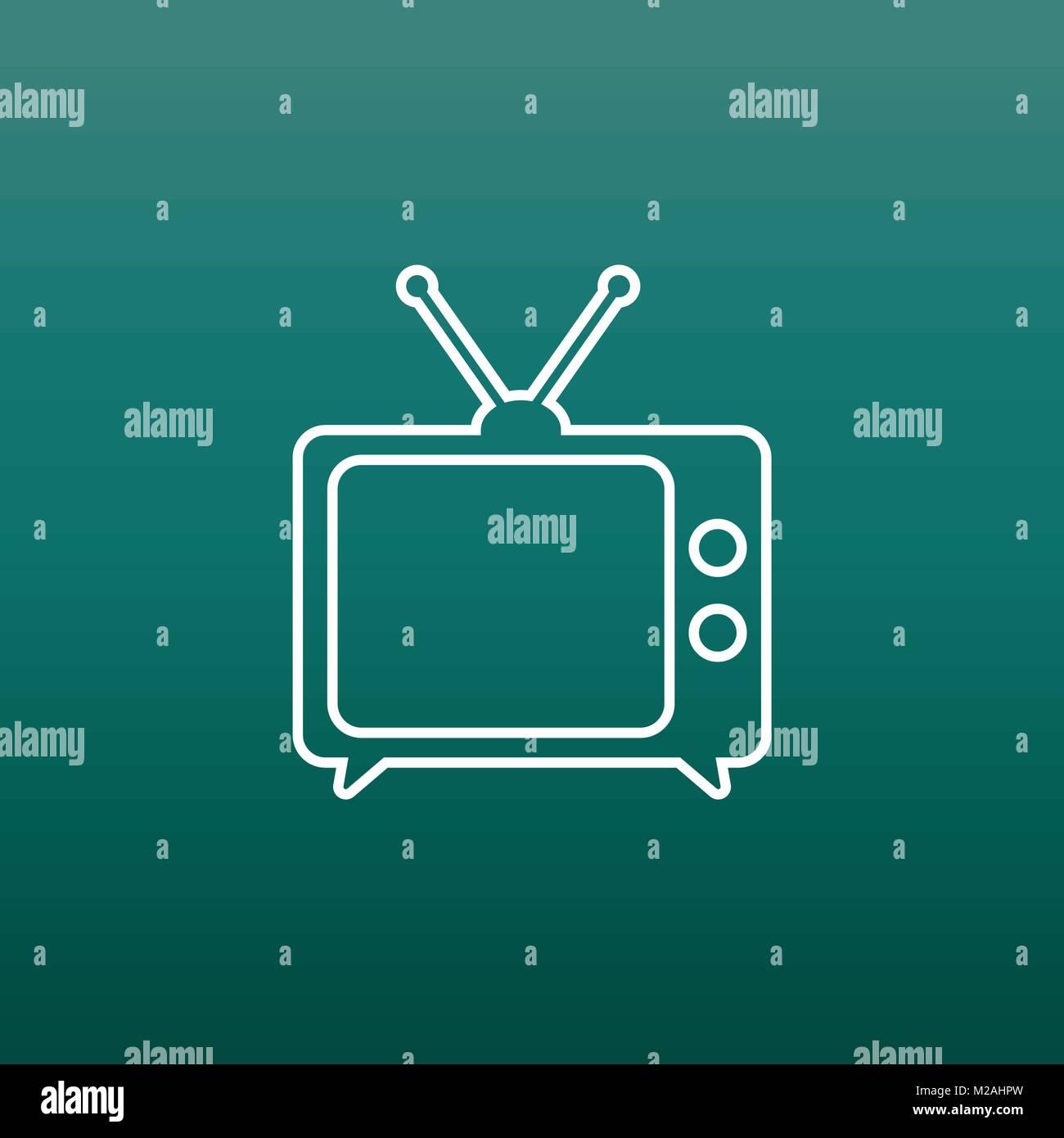 Fernsehen hintergrund grun