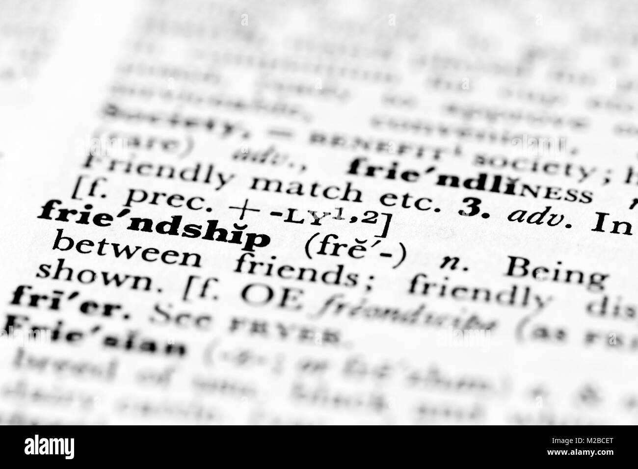 definition freundschaft
