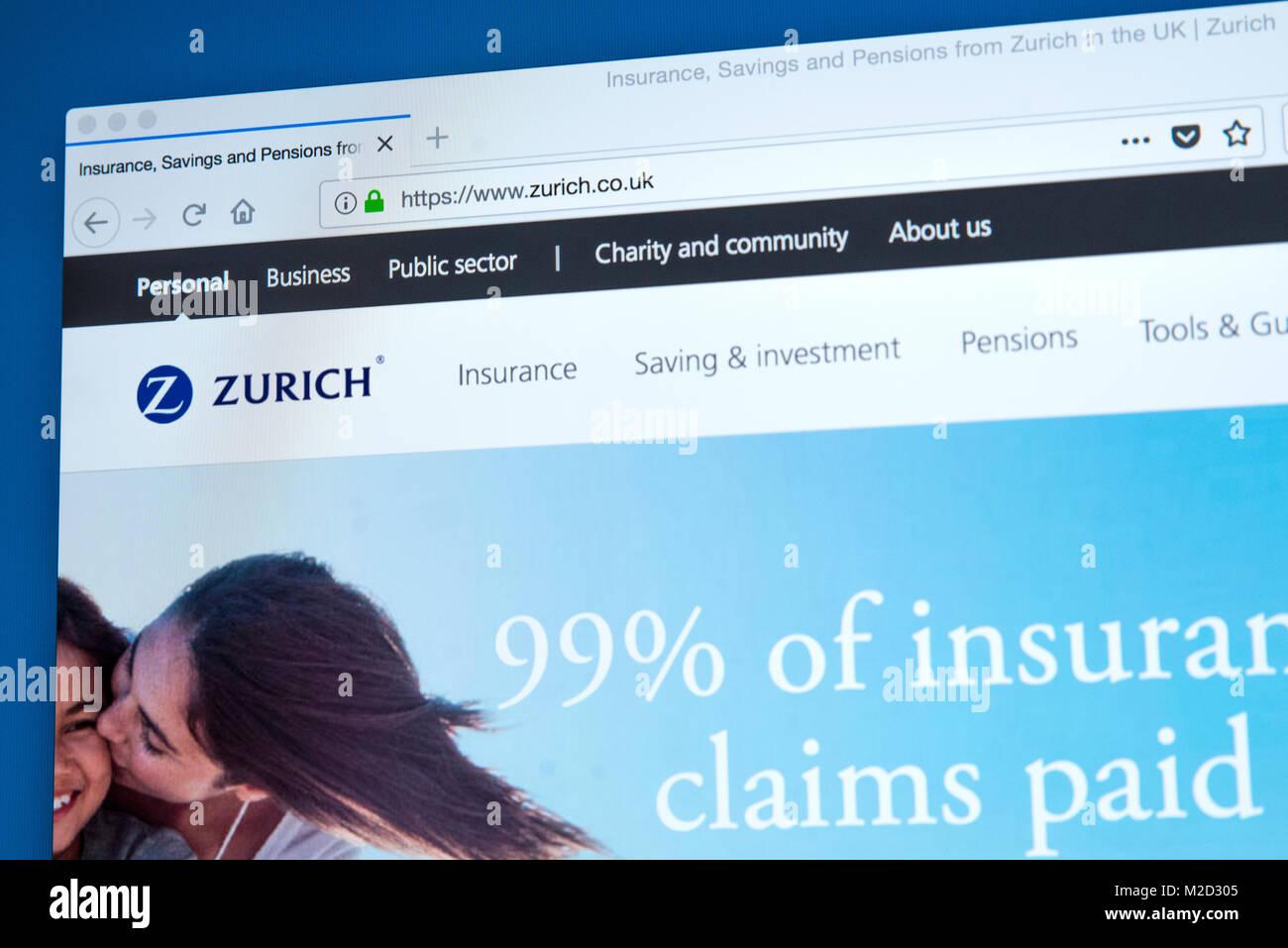 Zuricher Versicherung Stockfotos Zuricher Versicherung Bilder Alamy
