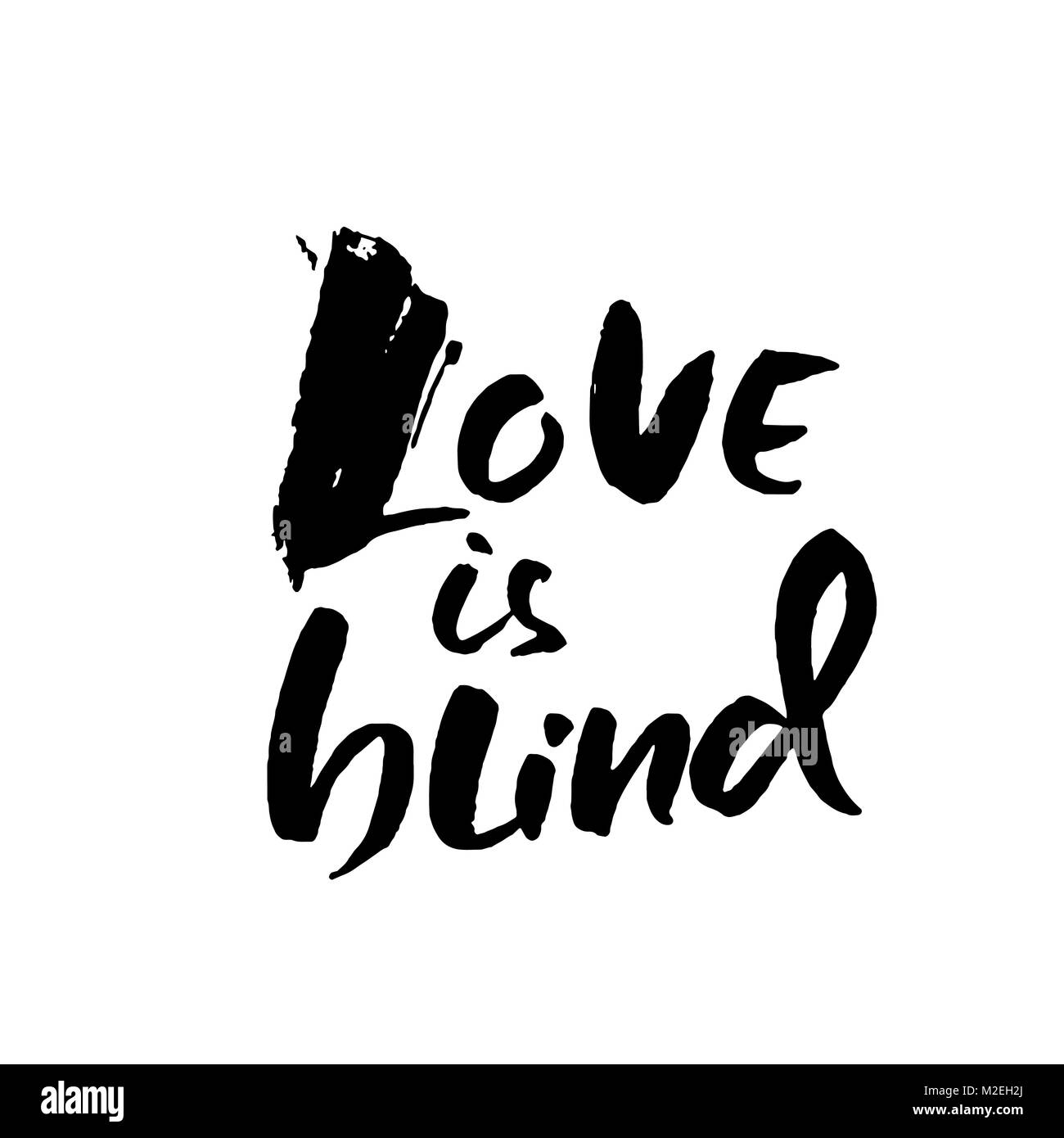 liebe ist blind