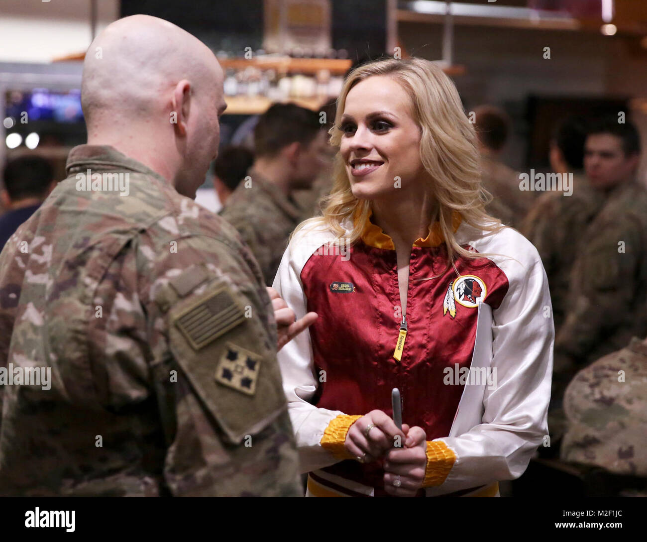 u s army offizier cheerleader