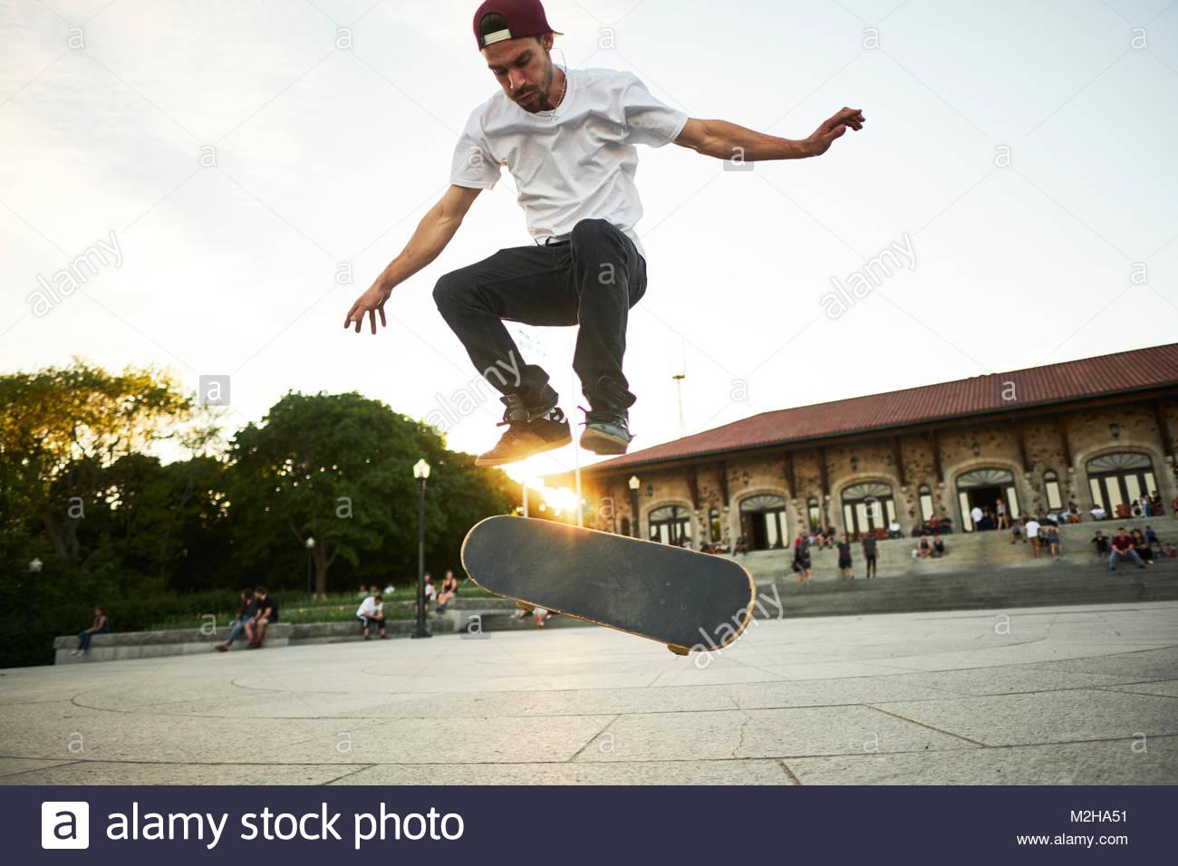 Kanadische Skater aus