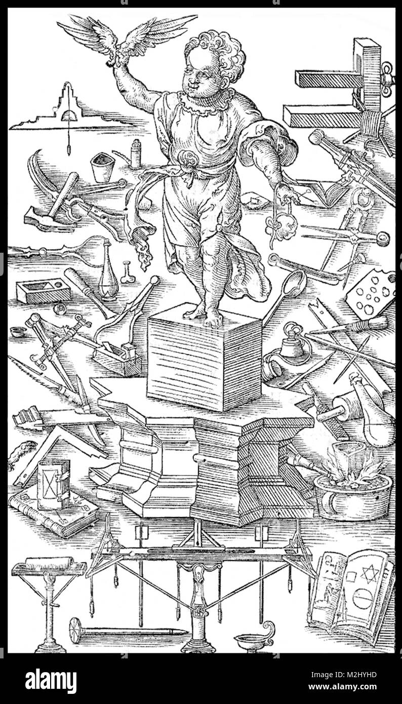 """Die neue Perspektive"", 1547 Stockbild"