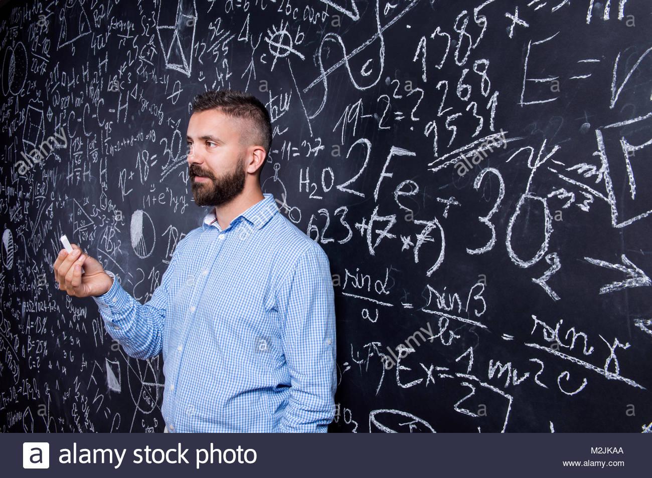 Große Kolben Lehrer