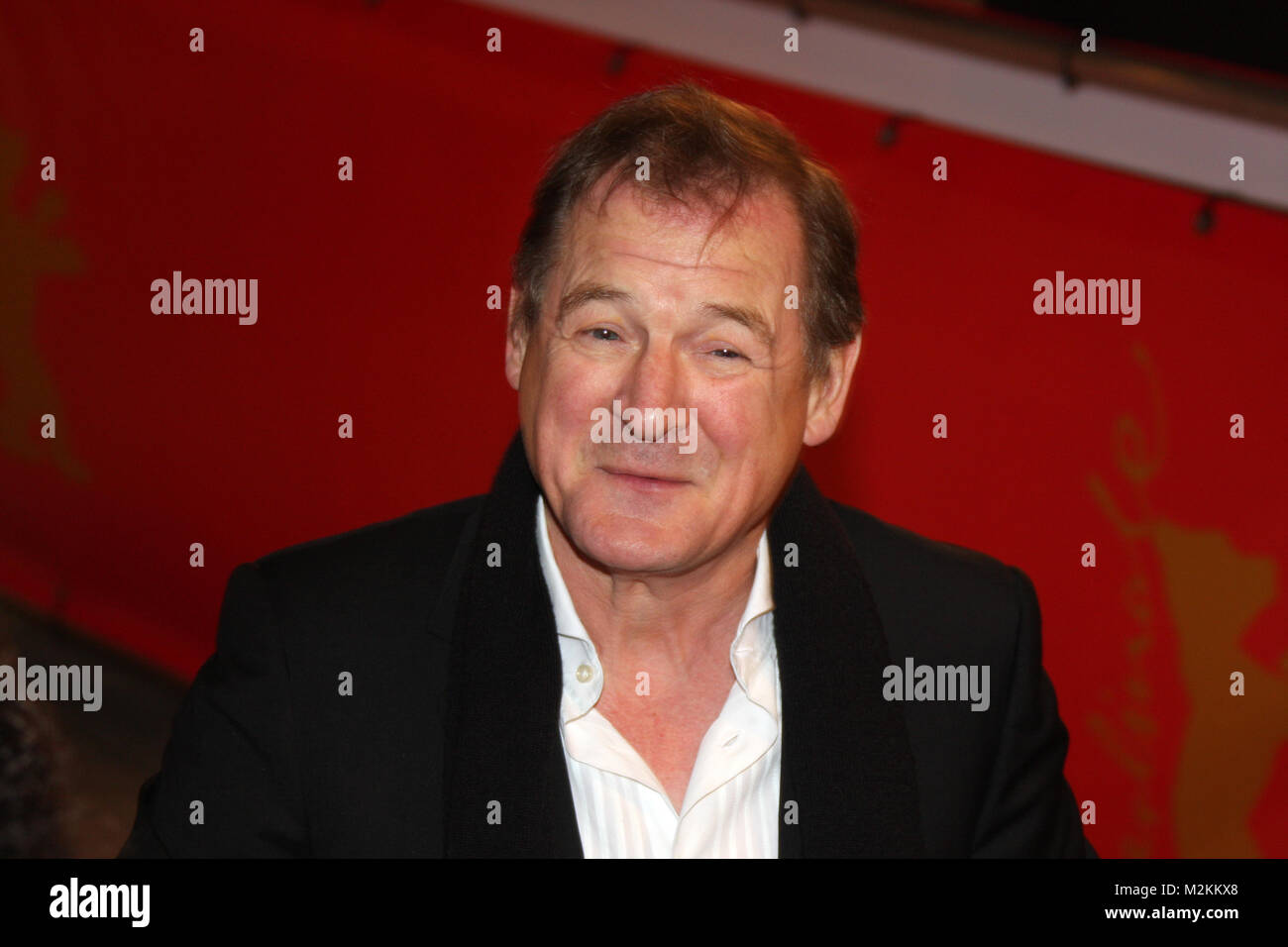 Burghart Klaußner auf dem Roten Teppich zur Eröffnung der 58. Internationalen Filmfestspiele Berlin Berlinale Stockbild