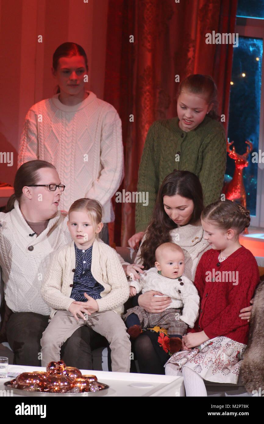 Angelo Kelly Mit Frau Und Kindern Der Fuev Singt Mit Kelly Family