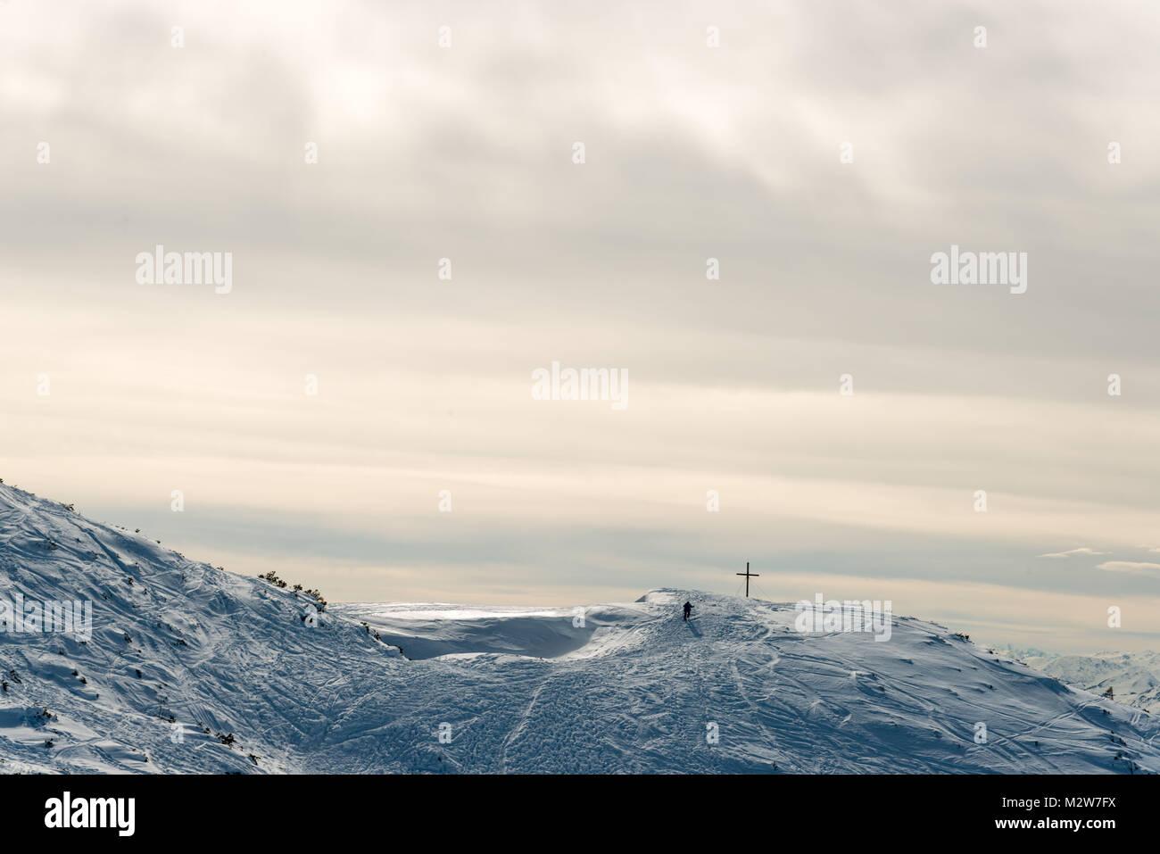 Skigebiet Steinplatte Stockfotos Skigebiet Steinplatte Bilder Alamy
