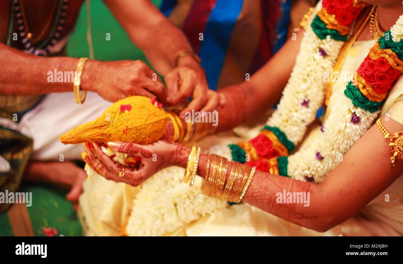 Indische Hochzeit Rituale Stockfoto Bild 173918181 Alamy