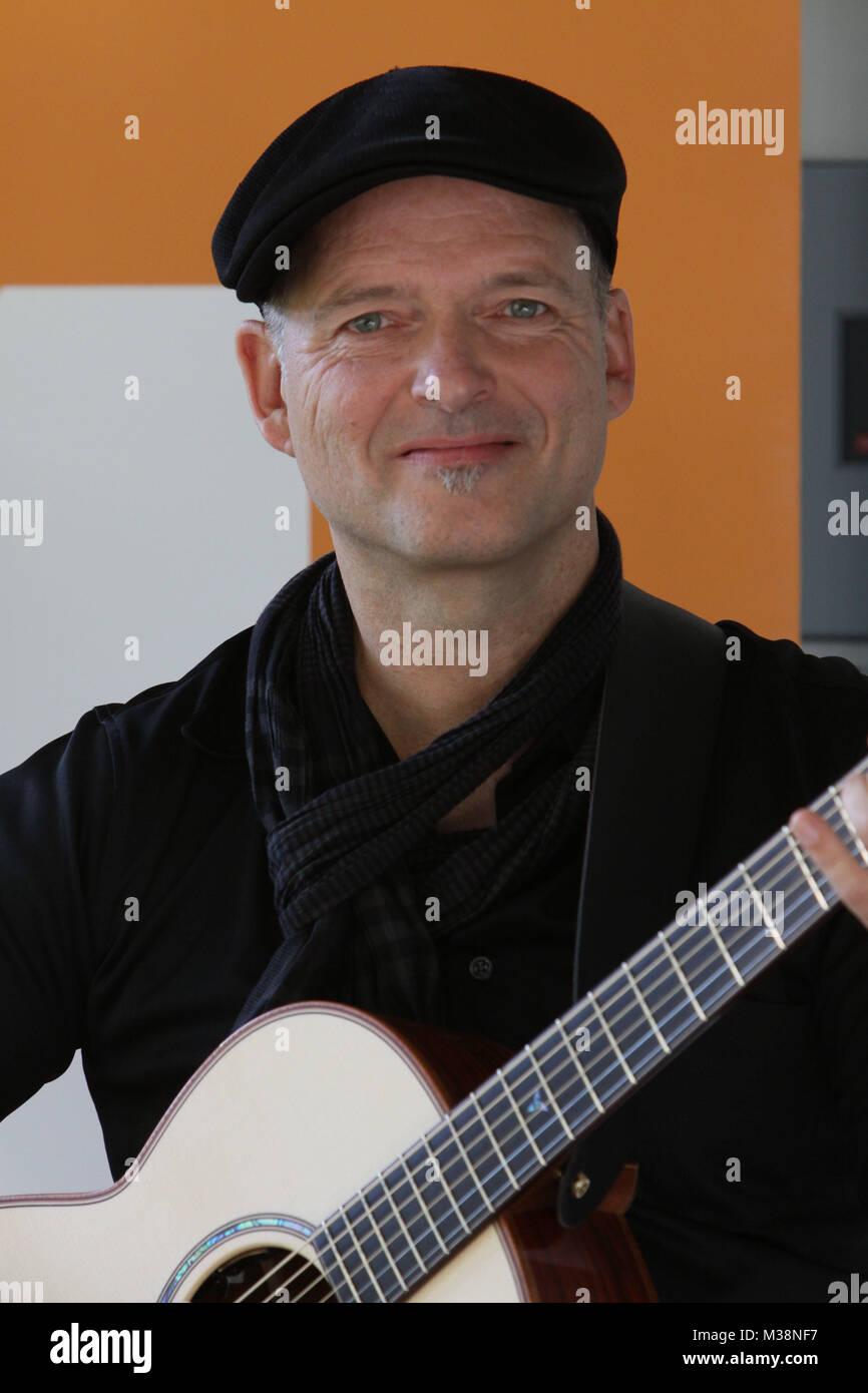 Markus Gahlen, WDR 4 mit neuem Konzept und neuem Standort, WDR Studio Dortmund, 09.06.2009 Stockbild