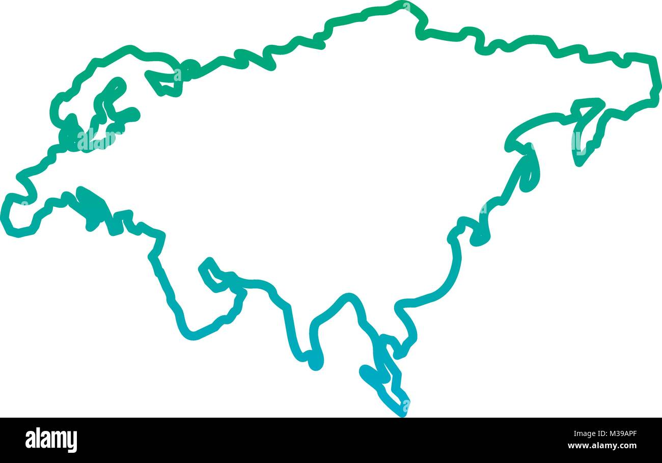Asia Map Outline Stockfotos & Asia Map Outline Bilder - Seite 3 - Alamy