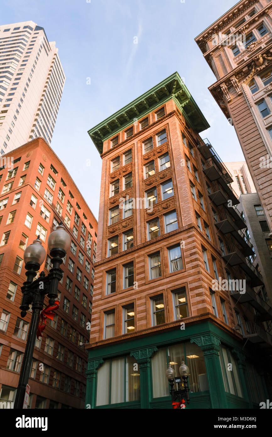 Der Winthrop Gebäude, eine historische Stahlrahmen Wolkenkratzer im ...