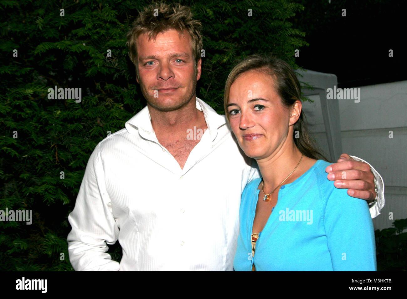 Oliver Geissen Und Ehefrau Ulirike Bei Der Get Together Party