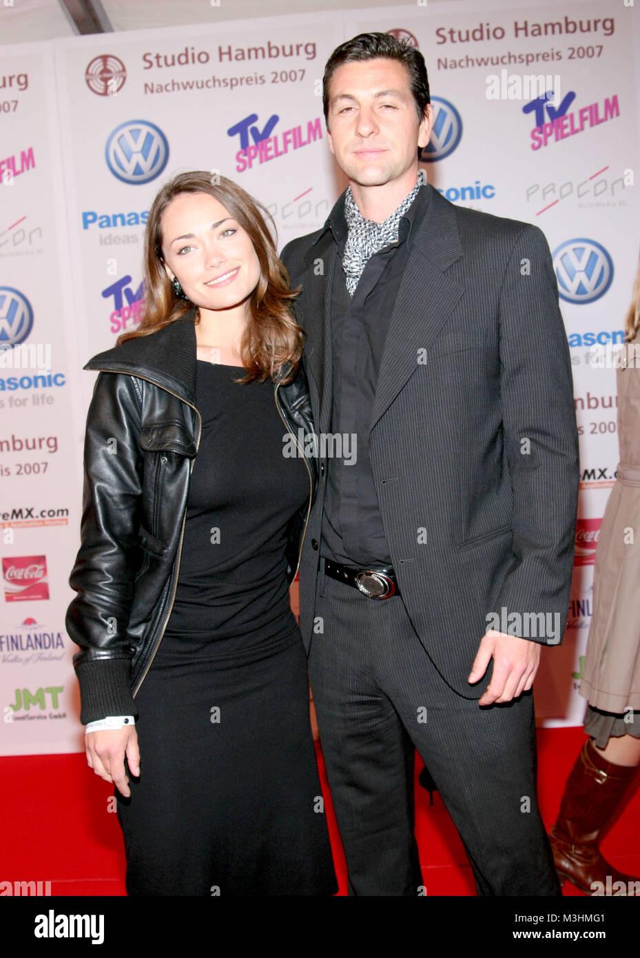Gregor Törzs und Sarah Besgen bei der Preisgala des Studio