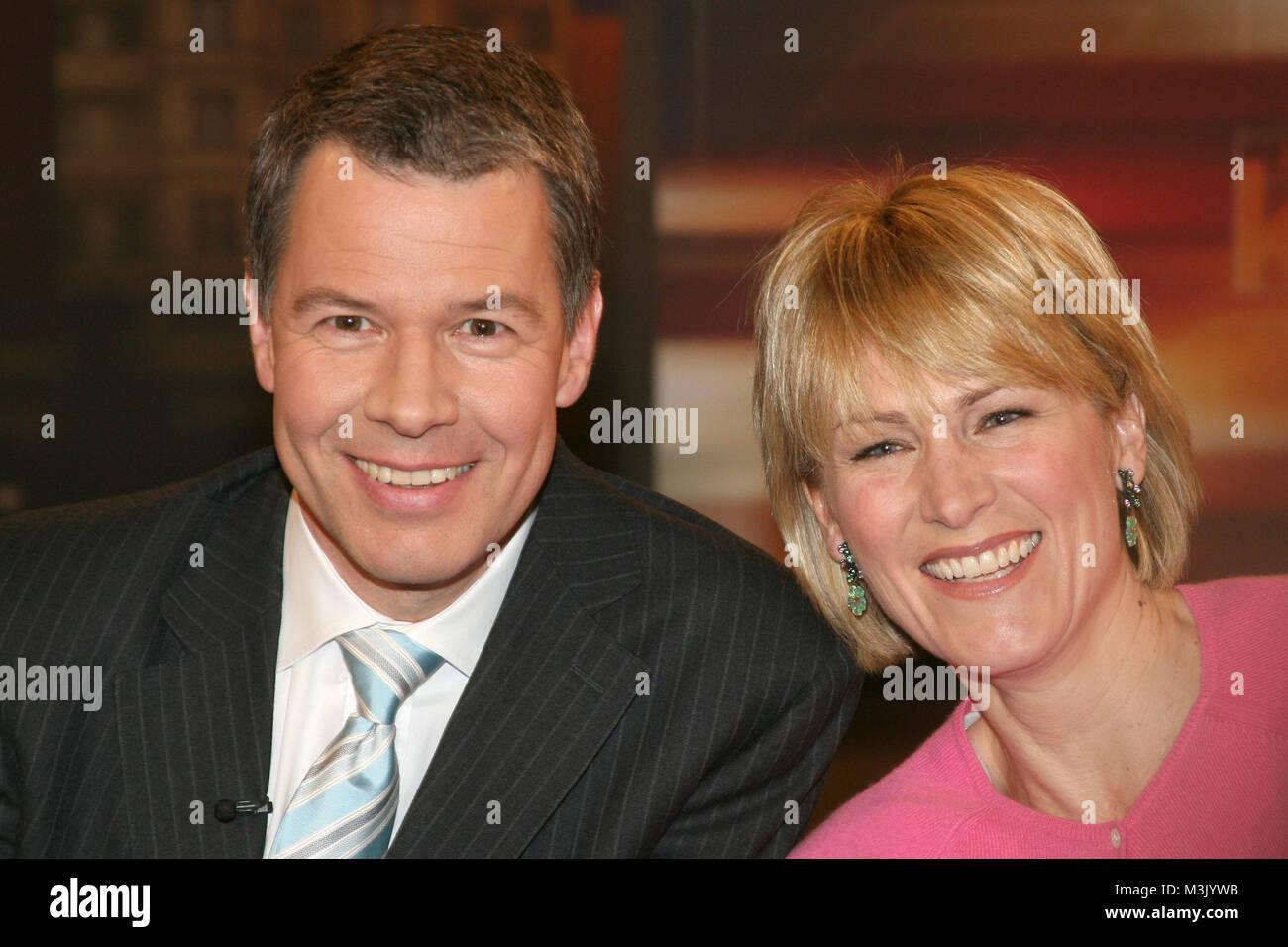 Johannes B Kerner Show Hamburg 10042008 Zu Gast Moderator Und