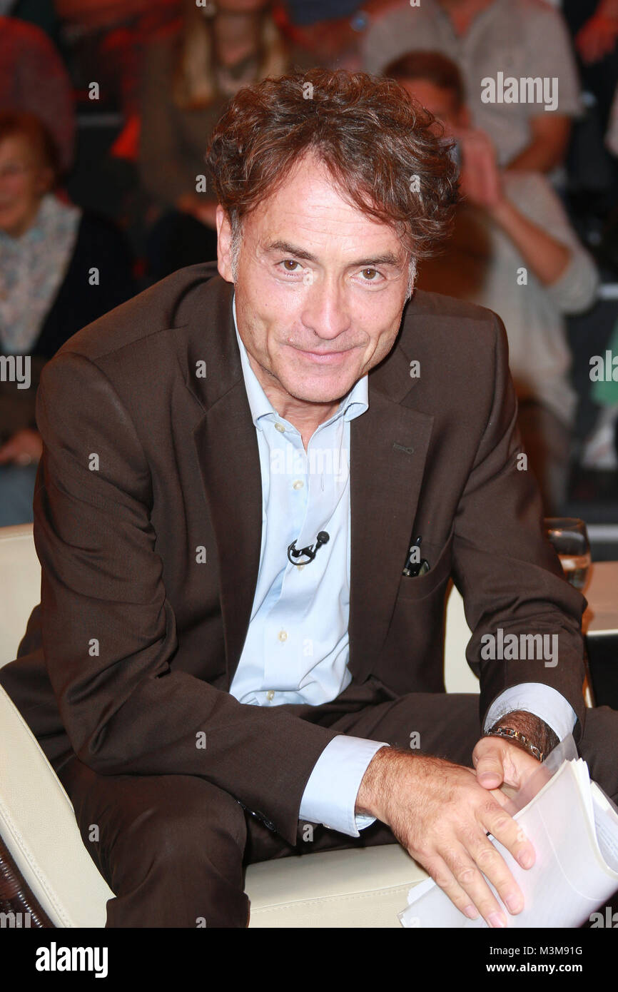 Giovanni di Lorenzo (Journalist, Moderator), Markus Lanz Sendung 1 aus dem  Studio Stahltwiete, Hamburg, 06.09.2016 Stockfotografie - Alamy