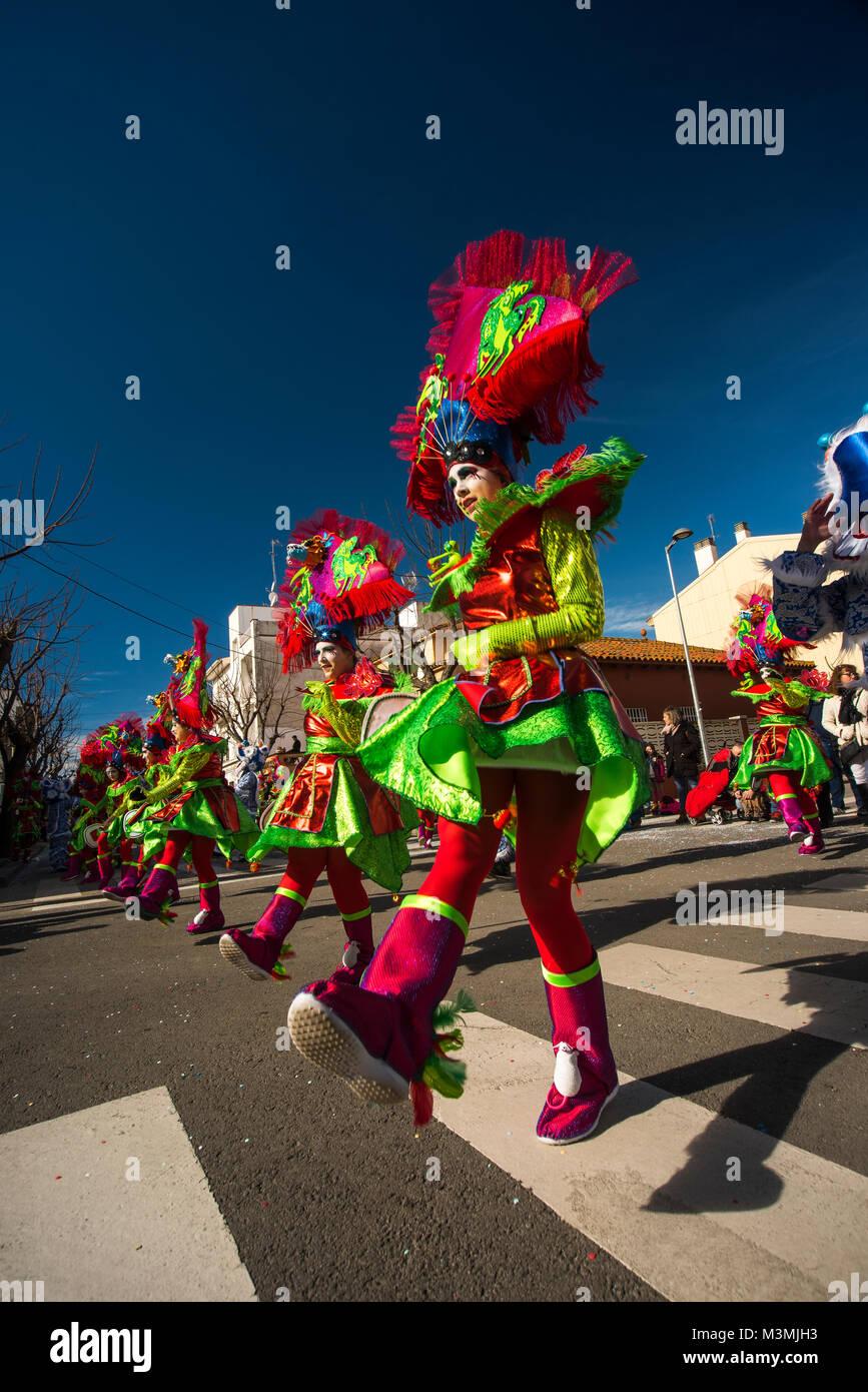 Karneval In Pineda De Mar Barcelona Der Tag An Dem Alles