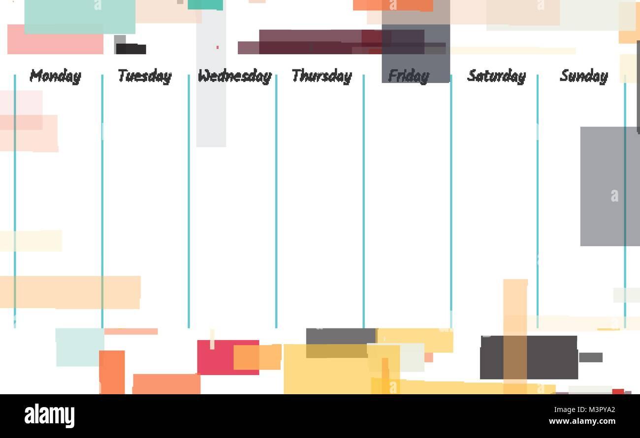 Fein Wöchentliche Kalendervorlage Pdf Ideen - Entry Level Resume ...