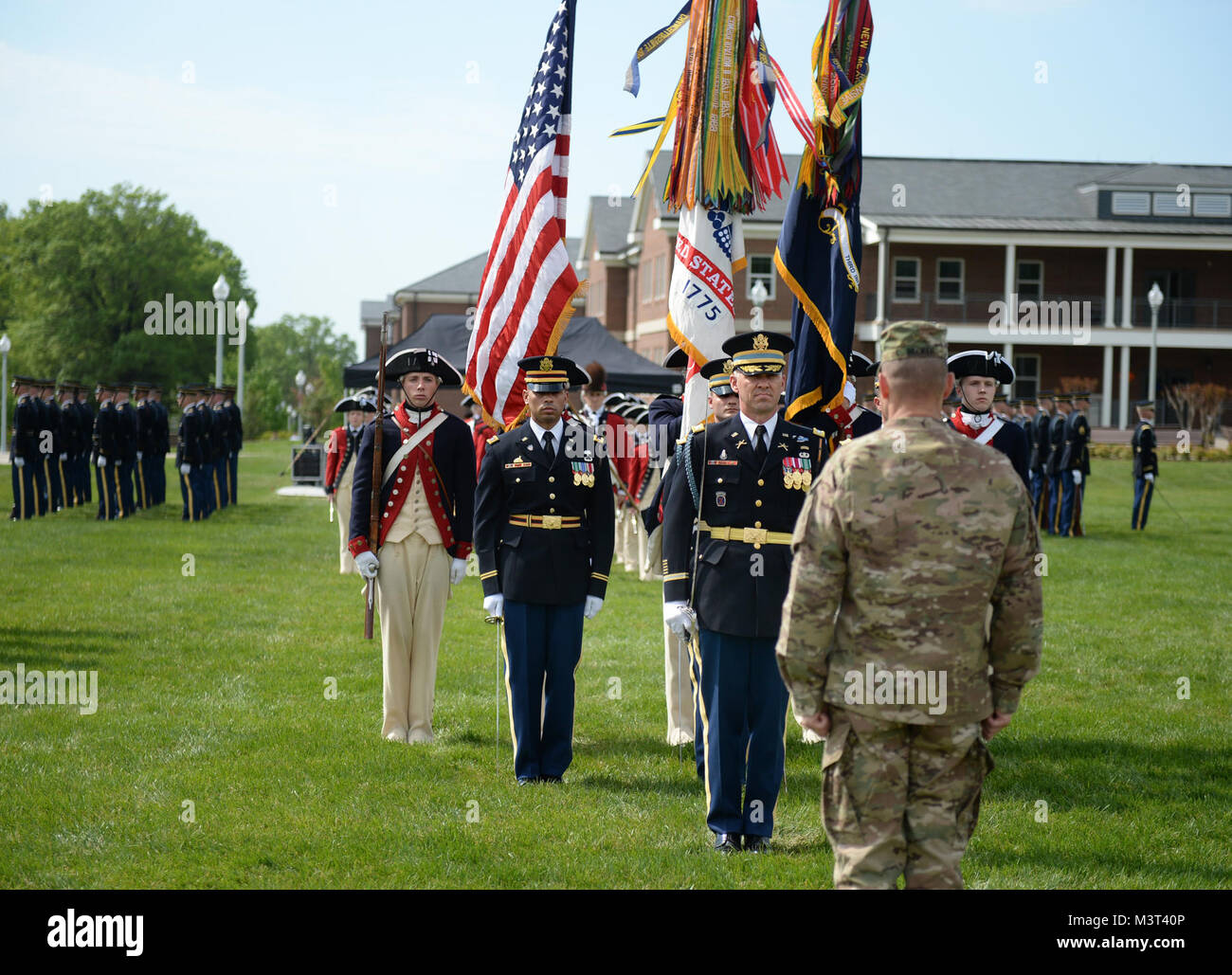 Armee Major General Bradley A. Becker, Kommandierender General, Military District von Washington, Bewertungen die Stockbild
