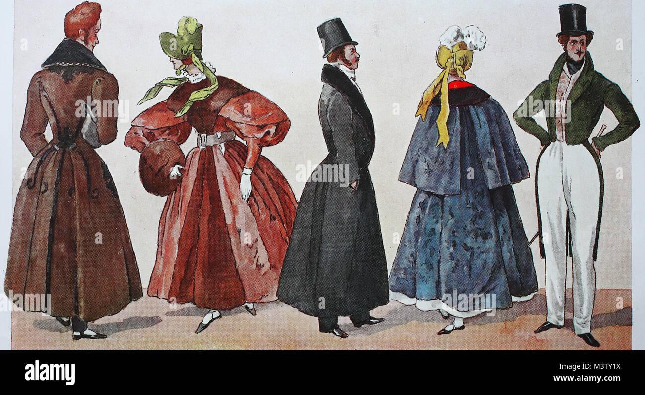 sale retailer 0a4cd dac6f Mode, Kleidung, das Biedermeier Mode in Deutschland, Mode in ...