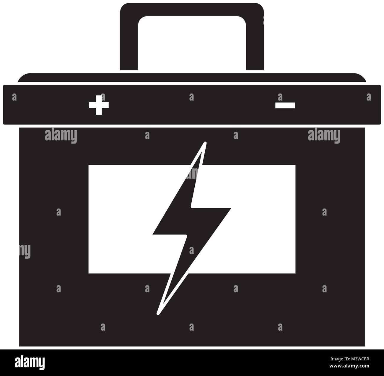 Groß Schematische Symbol Batterie Zeitgenössisch - Der Schaltplan ...
