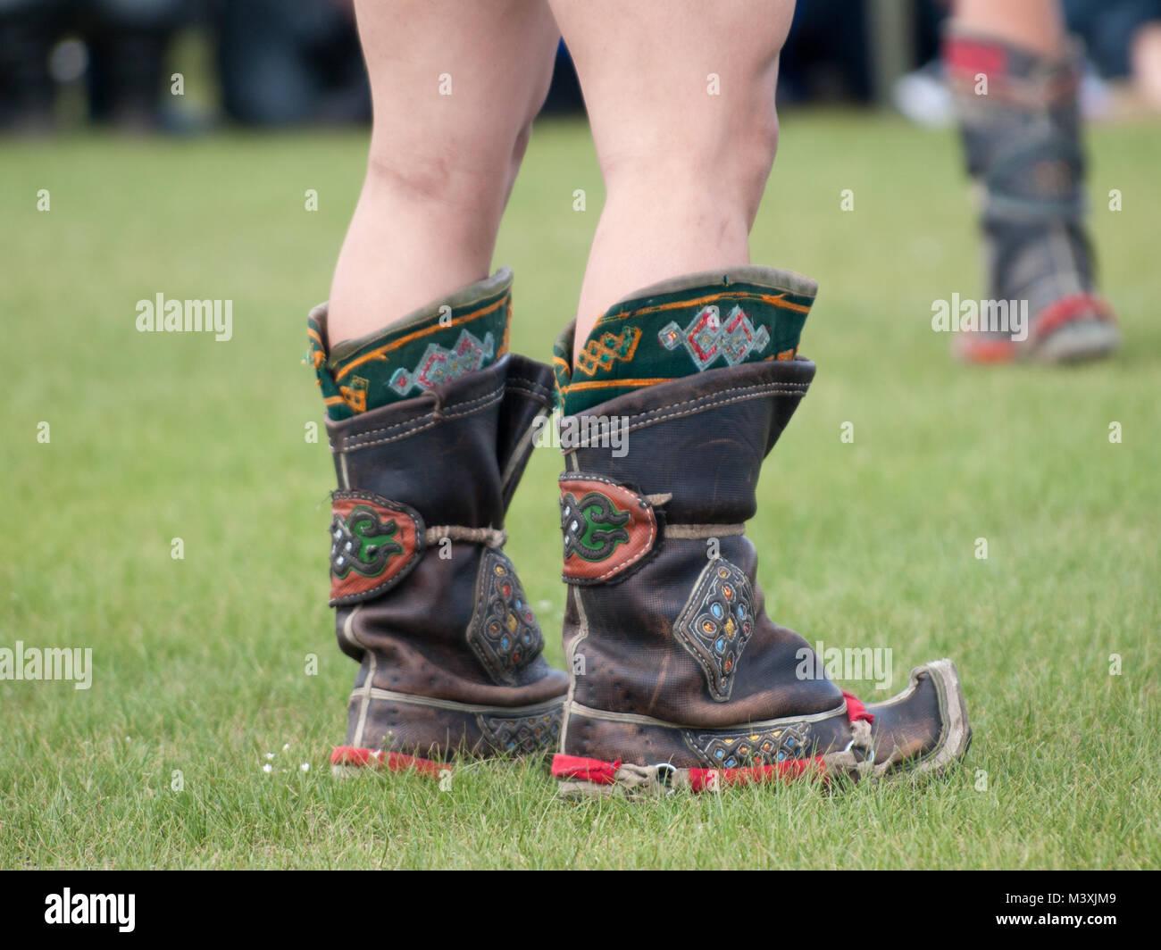 Mongolische Stiefel für Damen