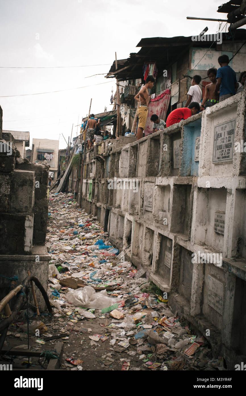 April 7, 2015 - Manila, Manila, Philippinen - lokale Leute gesehen ...