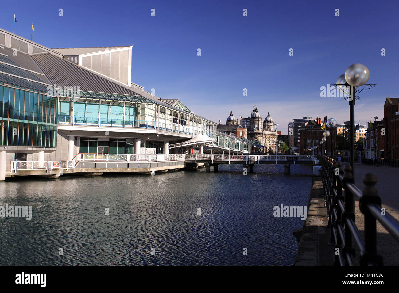 Princess Quay Shopping Centre, Princes Dock Street, Hull, Großbritannien Stockbild